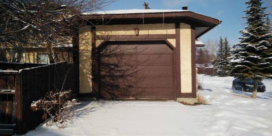 Spacious 3 bdrms, developed basement, single garage home in Coach Hill SW!