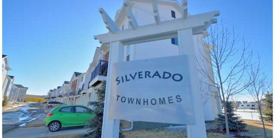 Newer 2012 Townhouse for rent in Silverado with great view!
