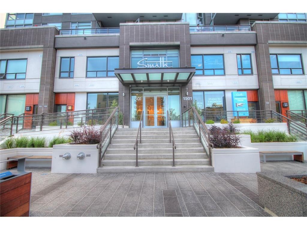 This stylish 18 floor, boutique building feature 1 bdrm 1 bath on 6 ST SW!
