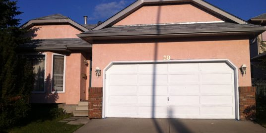 Fresh paint, renovated! double garage single family home in Sandstone!