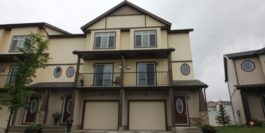 Few years old 3 bdrm Townhome in Copperfield with walk out basement!