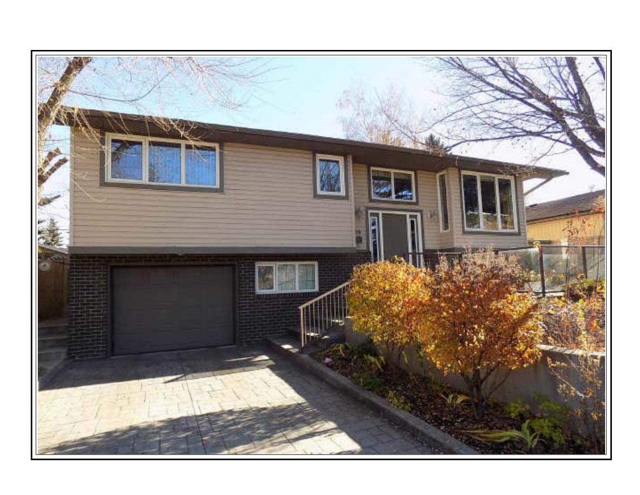 Upgraded Bi Level with over 1800 sq ft of living space in Brentwood!