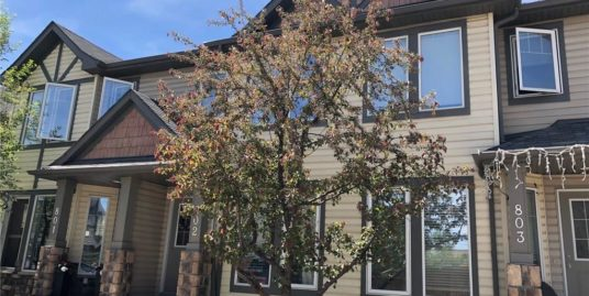 (PENDING) Beautiful 2 ensuited bdrms townhome for rent in Airdrie