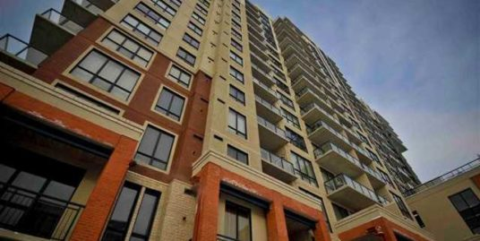 1 bdrm plus den highrise apartment located near Heritage Pointe