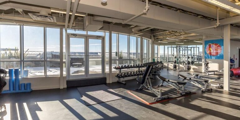2nd building gym