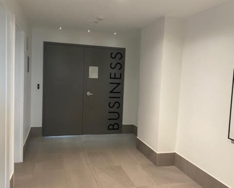 Business centre for meetings