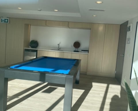Game room next to Pool