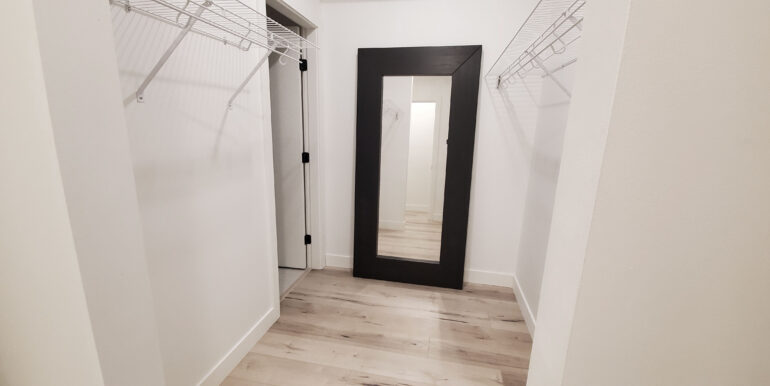 large bedroom walk in closet