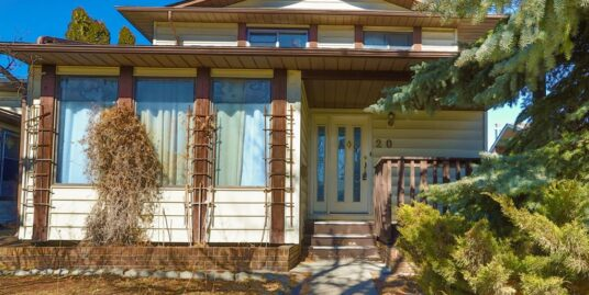 OLDER BUT SPACIOUS AND WELL MAINTAINED 3.5 BDRM HOME IN BEDDINGTON!
